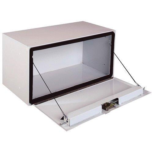 Long Steel Underbed Box (Delta Pro 1-005000 White 18