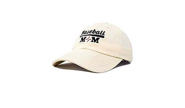 739787d4acdee DALIX Baseball Mom Women s Ball Cap Dad Hat for Women in Beige at Amazon  Women s Clothing store