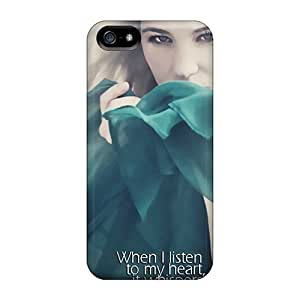 New Iphone 5/5s Cases Covers Casing(listen To My Heart)