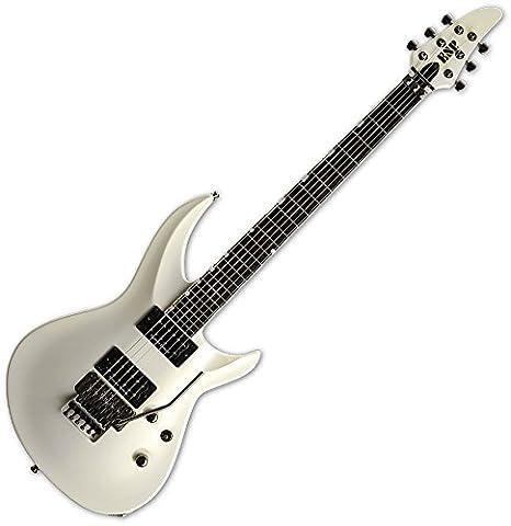 Esp horizon-iii guitarra eléctrica Pearl blanco oro: Amazon.es: Instrumentos musicales