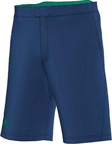 4fc409b01d805 Amazon.com   Adidas Men s Barricade Bermuda-Mineral Blue EQT Green-Medium    Sports   Outdoors