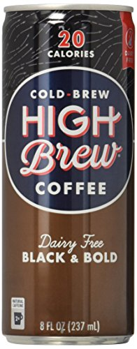 High Brew Coffee Black & Bold, 8 Ounce (12 Count)