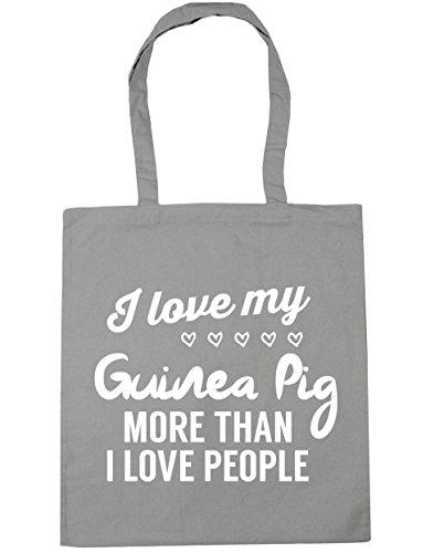 I litres Shopping Beach people love Bag guinea Grey Tote Gym I pig 42cm HippoWarehouse love x38cm than Light more my 10 W0qBzxfPU
