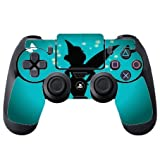 Cute Fairy Silhouette with Butterflies Design Print Image PS4 DualShock4 Controller Vinyl Decal Sticker Skin by Trendy Accessories