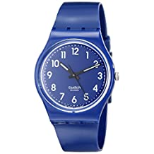 Swatch Men's GN230 Up-Wind Blue Dial Watch