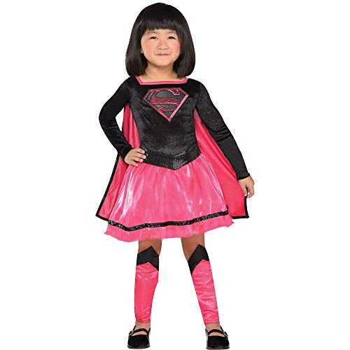 Suit Yourself Superman Pink Supergirl Dress Costume