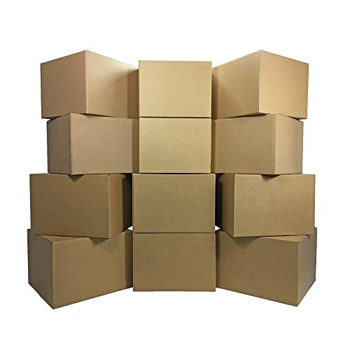uBoxes Large Moving Boxes, 20x20x15in, 12 Pack, Cardboard Boxes (Best Way To Store Fine China)