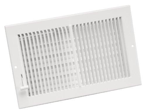 6x12 white floor register - 7