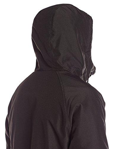 Heavy Volcom Men's Hernan Jacket Weight Hooded Black 16 rqrwESCx