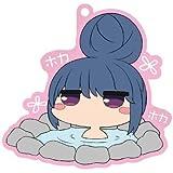 ゆるキャン△ 【バスでふぉ】 リンin岩風呂 ラバーストラップ