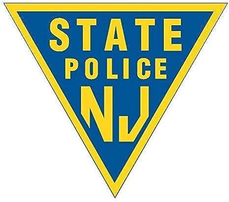 Nueva Jersey Estado policía pegatinas 7 tamaño póster portátil adhesivo R1042 – Nueva Jersey Estado policía parche: Amazon.es: Juguetes y juegos