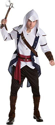 Assassin's Creed III Connor Assassin Classic Men's Costume Bundle Large 44 ()