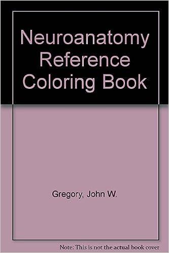 Neuroanatomy Reference Coloring Book: John W. Gregory: Amazon.com ...