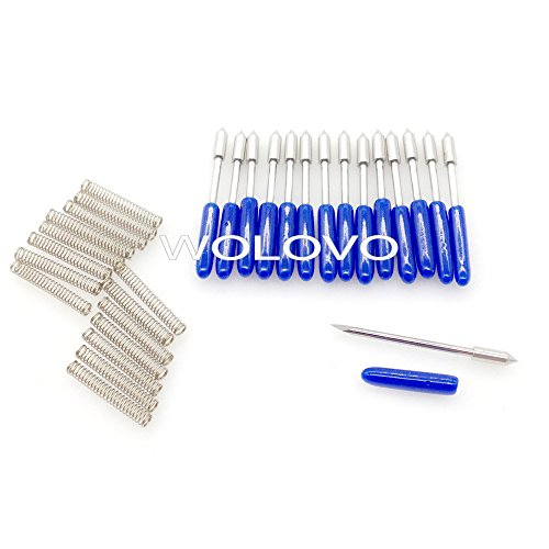 60 degree Graphtec CB09 Blade for Vinyl Plotter Cutter 15pcs by wolovo