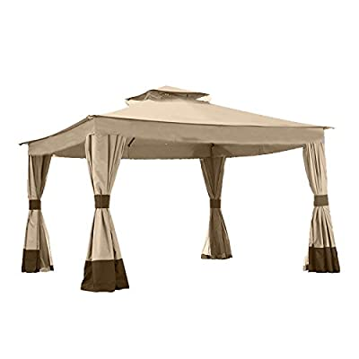 Garden Winds LCM1357B-RS Replacement Canopy, Beige : Garden & Outdoor