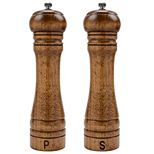 Haomacro Salt and Pepper Mill Set