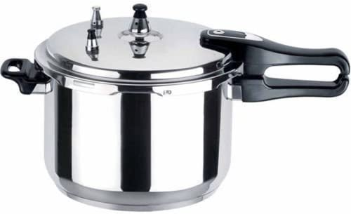 11l 11 Litre Light Weight Aluminiumepressure Cooker By Guilty Gadgets Amazon Co Uk Kitchen Home