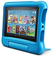 "Fire 7 Kids Tablet, 7"" Display, 16 GB, Blue Kid-Proof"