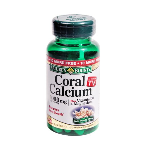 Bounty Coral Calcium Plus Vitamine
