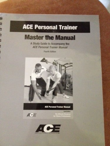 ace personal trainer manual 5th edition amazon