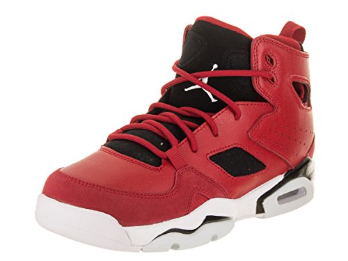 - Jordan Nike Kids FLTCLB '91 BG Gym Red/White Black Basketball Shoe 6 Kids US