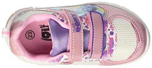 Walt Disney S17100gaz - Patucos de Material Sintético para niña Rosa