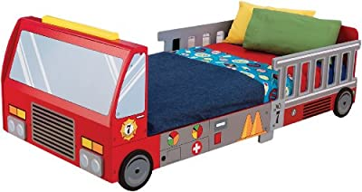 KidKraft Fire Truck Toddler Bed