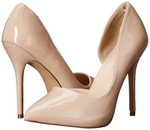 Con Pleaser Donna Tacco Scarpe beige 22 Pat Beige nude Amuse FTnrRTA
