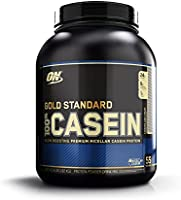 Optimum Nutrition Gold Standard 1 Casein Cookies & Cream Protein Powder, 1.82 Kilograms