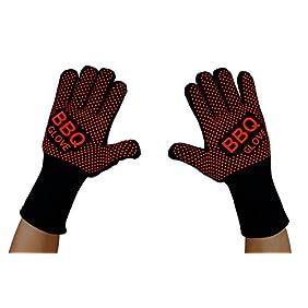 VlixIt Heat Resistant BBQ Gloves, 1-Pair