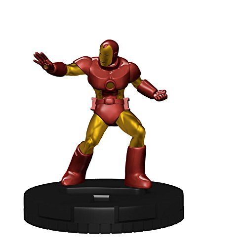 Marvel Heroclix 15th Anniversary What If # 002Iron Man Figure Complete with Card