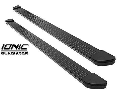Ionic Gladiator Black Running Boards 2003-2016 Chevy Express GMC Savana Van G-Van 6 or 4 Door 100