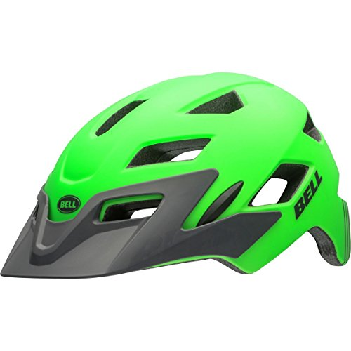 Bell Sidetrack MIPS Helmet - Youth Matte Kryptonite/Titanium, One Size
