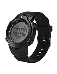 Becoler Men's Boy LCD Digital Stopwatch Date Rubber Sport Wrist Watch