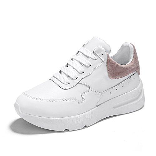 Chaussures femme HWF Petites chaussures blanches chaussures de plate-forme de printemps f