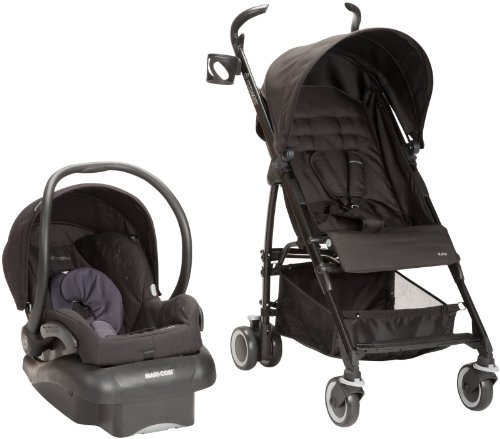 Maxi Cosi Kaia And Mico Nxt Travel System Total Black