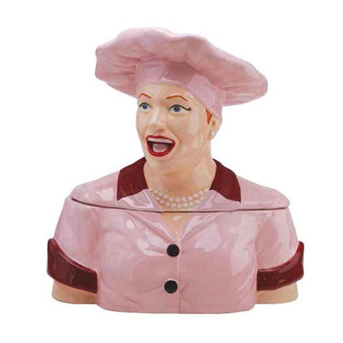 Westland Giftware I Love Lucy Chocolate Factory Cookie Jar #19872