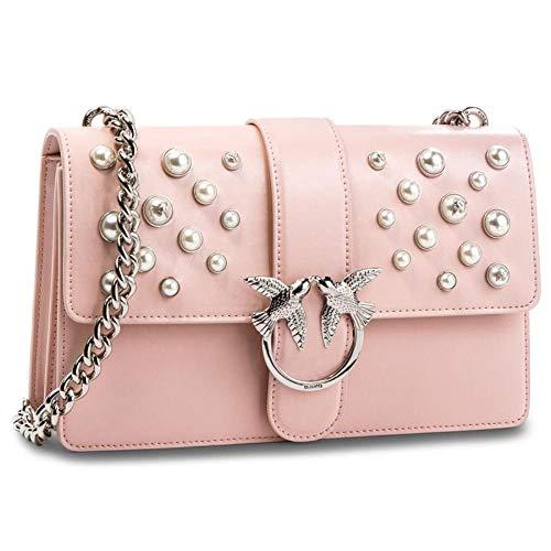1p216hy4yb Donna Borsa Pinko uni Pink Cod Size Bag x4PngI