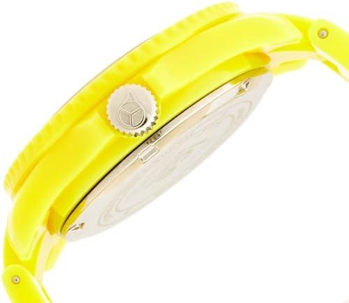 Ice-Watch - ICE solid Yellow - Montre jaune pour garçon avec bracelet en plastique - 000616 (Small)