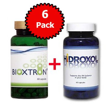 6 Bioxtron Tratamiento de células madres + Hidroxol GRATIS