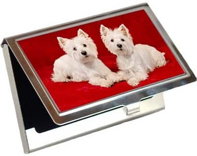 West Highland White Terrier Business Card//Credit Card Case