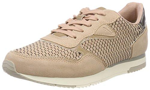 rose 596 Tamaris Femme 23601 Sneakers Comb Basses Rose 0xqwPXSn7q