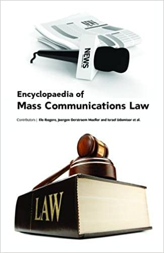 Book Encyclopaedia of Mass Communications Law