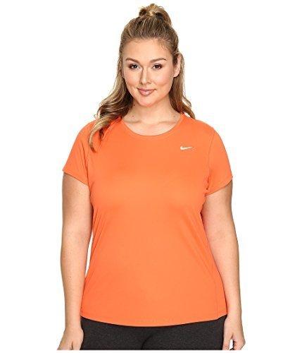 82dcfd3c597 Galleon - Nike Women s Miler Short-Sleeve Running Top