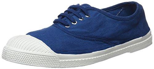 Azul Bleu Mujer Zapatillas Tennis para Bensimon Lacets fxqpPwpCU