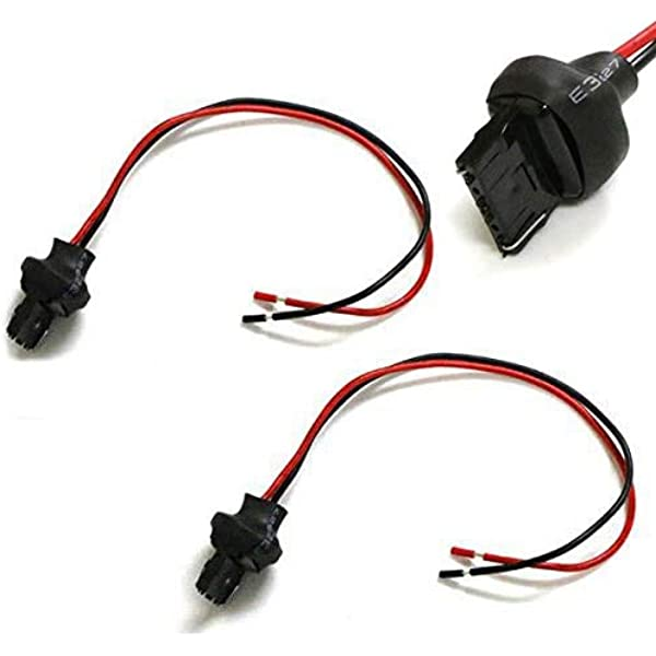 Amazon.com: iJDMTOY (2) 7440 T20 Male Adapter Wiring Harness Compatible  With Car Motorcycle Headlight Tail Lamp Turn Signal Lights Retrofit:  Automotive  Amazon.com