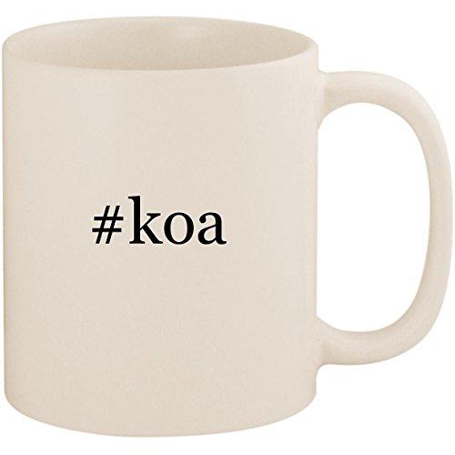 #koa - 11oz Ceramic Coffee Mug Cup, White