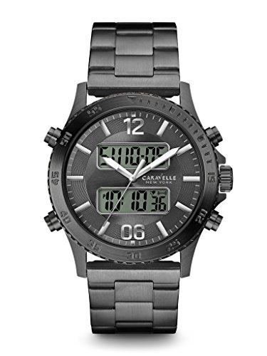 Caravelle New York Men's 45B136 Digital Watch