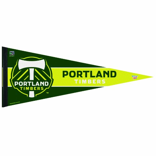 MLS Portland Timbers 12-by-30 Inch Premium Quality Pennant