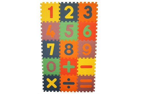 Learning Math Interlocking Foam Playmat (15 tiles) Review